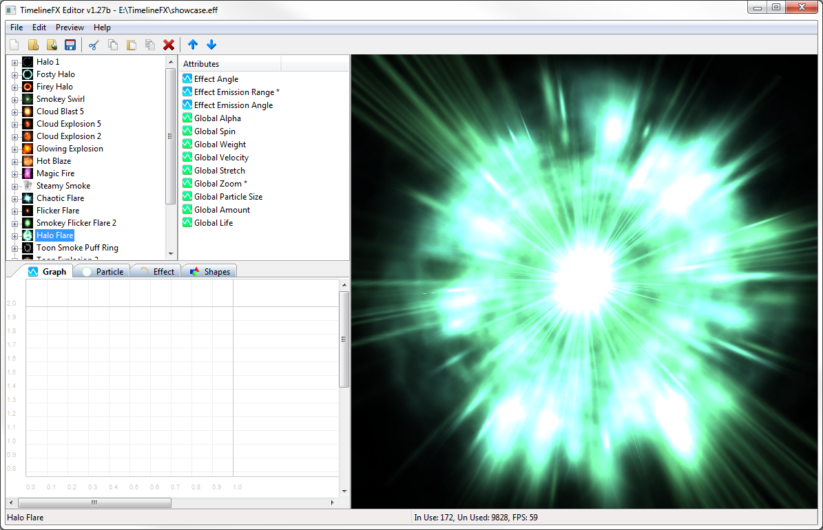 TimelineFX Particle Effects Editor - RigzSoft - Particle